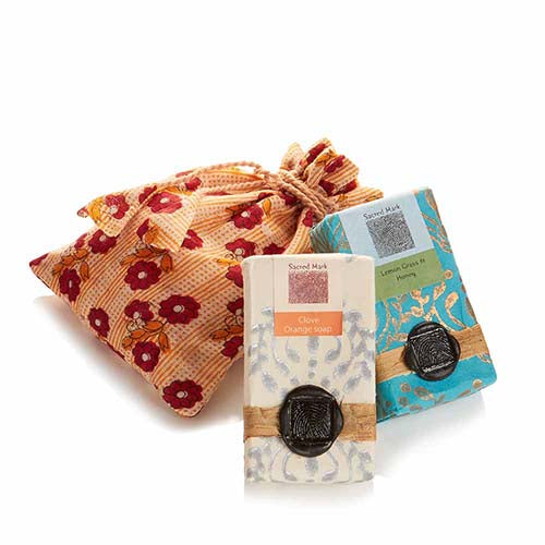 Sacred Mark Soaps - sweet scent - Small Things Fair Trade