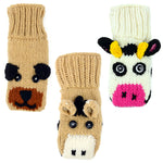 Kid's Cow Puppet Mittens - Small Things Fair Trade