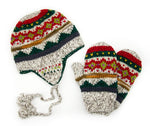 Handknit hat and mitten set - Small Things Fair Trade