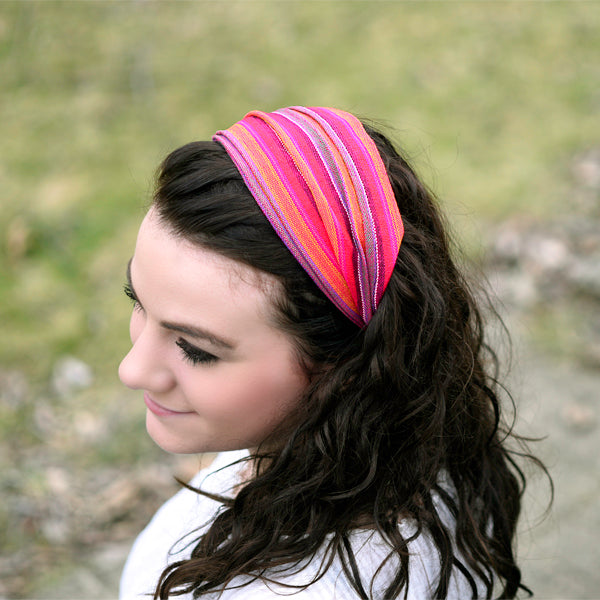 Colorful Headband - Guatemala or Nepal - Small Things Fair Trade