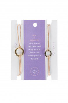 Mom & Daughter Bracelets - Small Things Fair Trade
