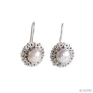 Pearl Drop Earrings - Small Things Fair Trade