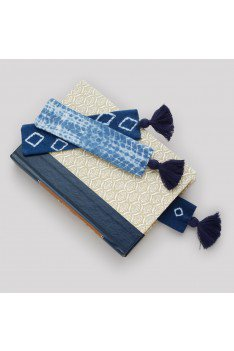 Blue Bliss Bookmark Set - Small Things Fair Trade