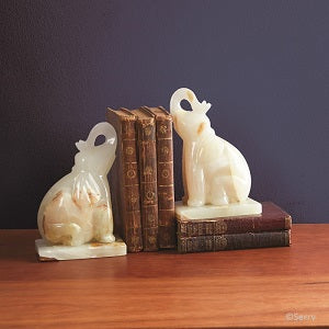 Onyx Elephant Bookends - Small Things Fair Trade