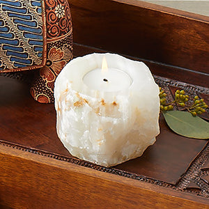 Onyx Candleholder - Small Things Fair Trade