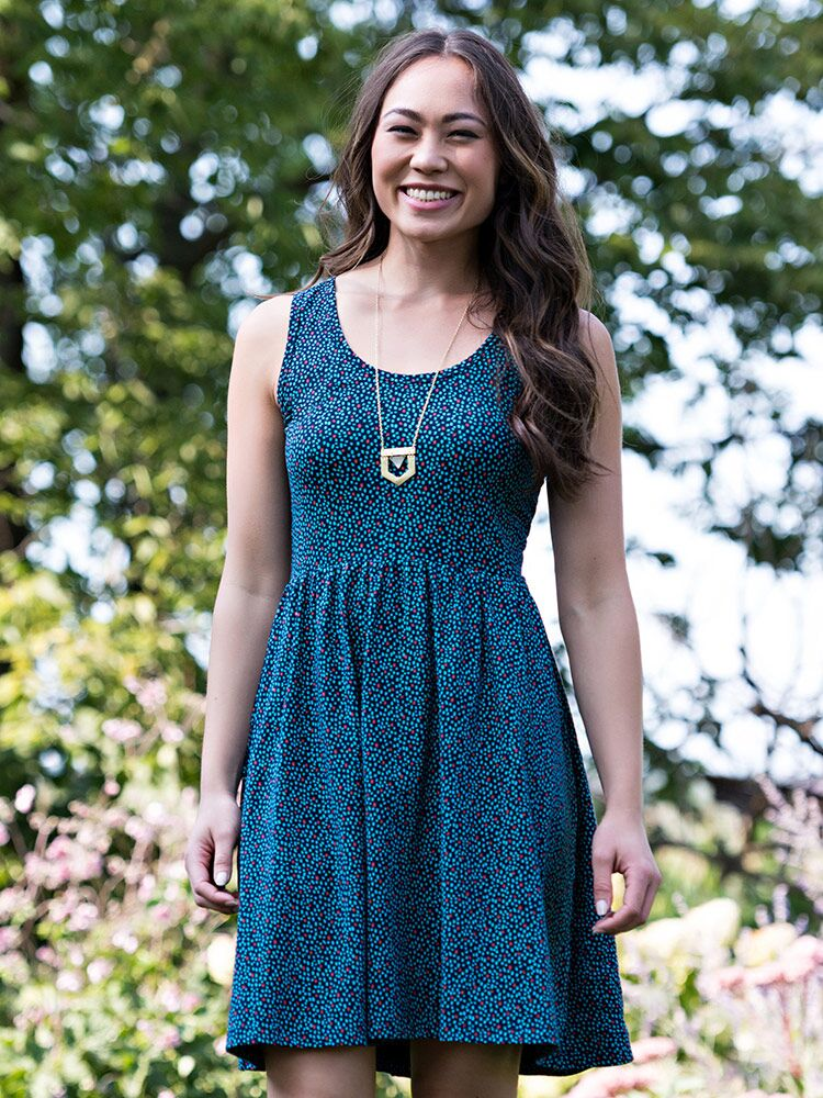 Summer Sonnet Dress - Small Things Fair Trade