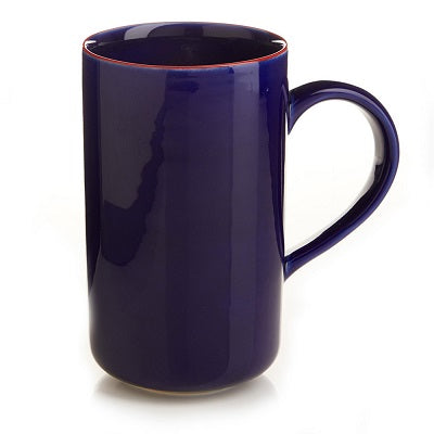 Latte Mug (Cobalt, Turquoise or Red) - Small Things Fair Trade