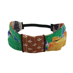 Kantha Bow Headband - Small Things Fair Trade