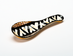 Spoon Rest - Animal Print - Small Things Fair Trade