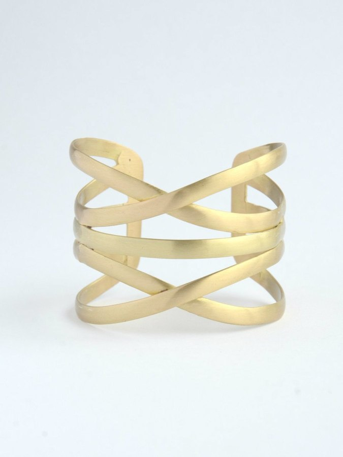 Gold Lining Cuff - Small Things Fair Trade