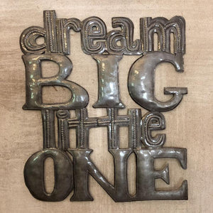 Dream Big Metal Sculpture - Small Things Fair Trade