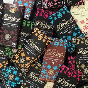 Divine - Dark Chocolate with Whole Almonds - Small Things Fair Trade