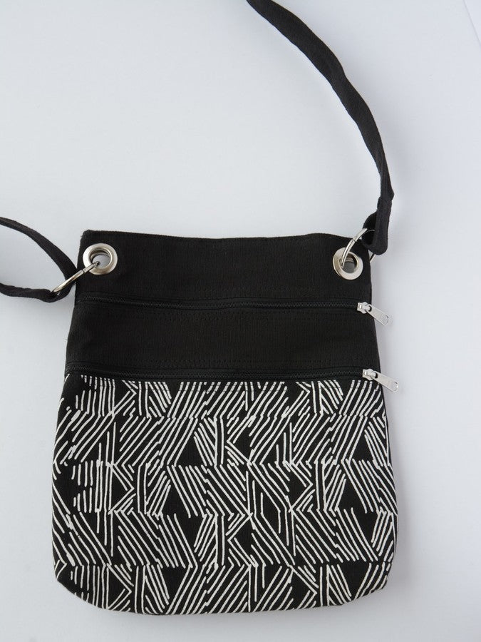 Matchstick Travel Purse - black - Small Things Fair Trade