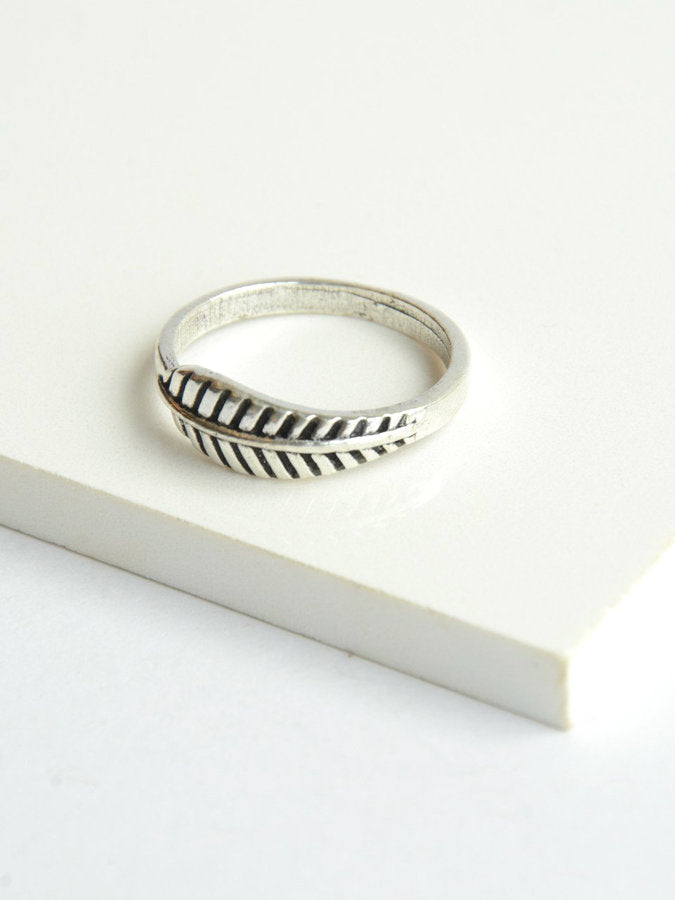 Feather Ring - Small Things Fair Trade