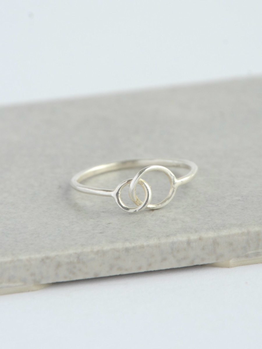 Double Halo Ring - Small Things Fair Trade