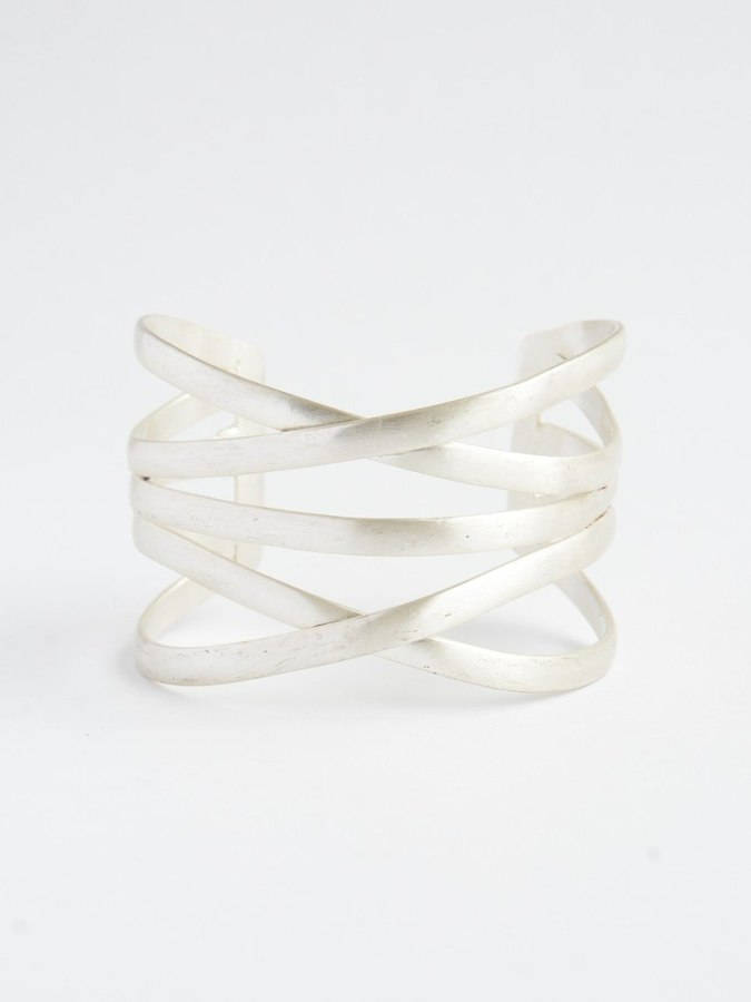 Silver Lining Cuff - Small Things Fair Trade