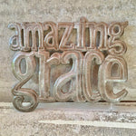 Amazing Grace Metal Sculpture - Haiti - Small Things Fair Trade