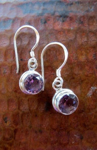 Sterling and Stone Earrings - Small Things Fair Trade
