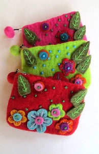 Coin Purse - Felted (Nepal)