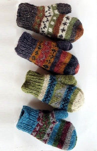 Hemp Wool Mittens