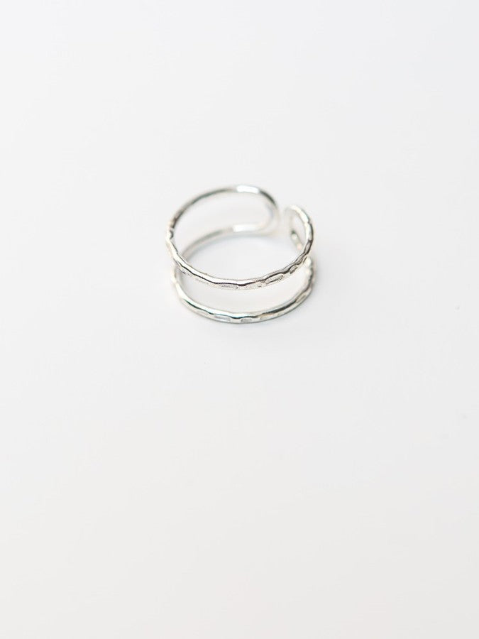 Illusion Ring - silver or brass - Small Things Fair Trade