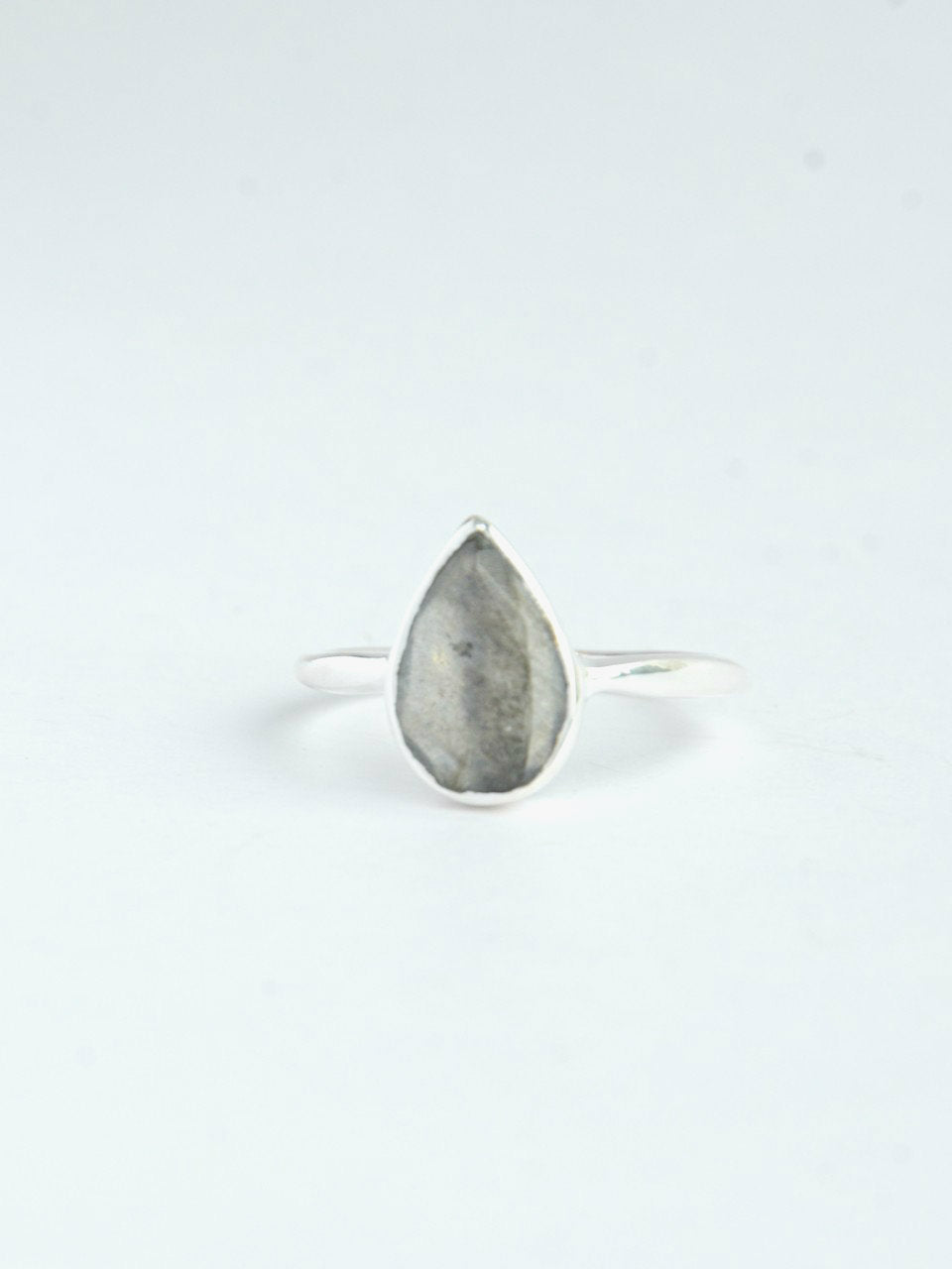 In Love and Labradorite Ring - Sterling - Small Things Fair Trade