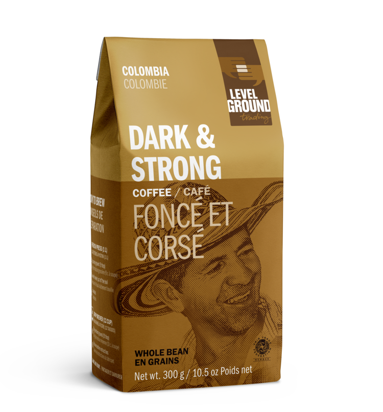 Dark & Strong Coffee - Columbia (Level Ground)