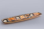 Oblong Serving Dish - Multi Ethnic or Animal Print - Small Things Fair Trade