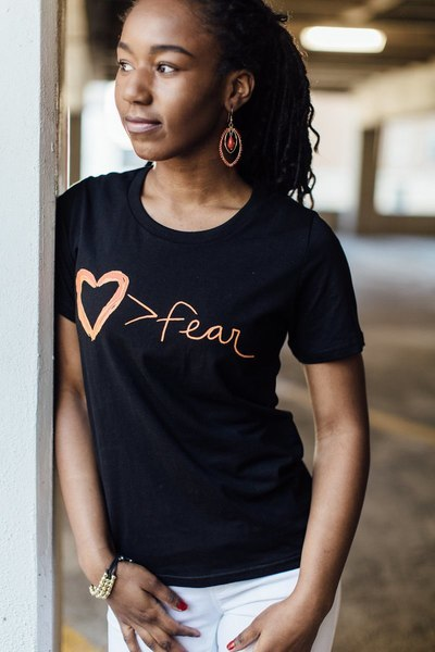 Love is Greater than Fear - short sleeve - Small Things Fair Trade