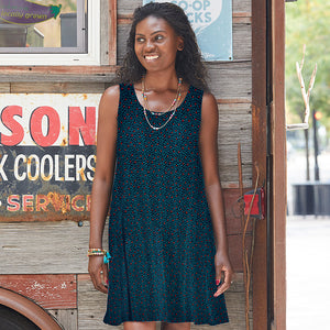 Olivia Dress - Confetti - Small Things Fair Trade