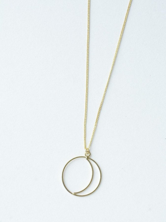 Simple Night Necklace - gold - Small Things Fair Trade