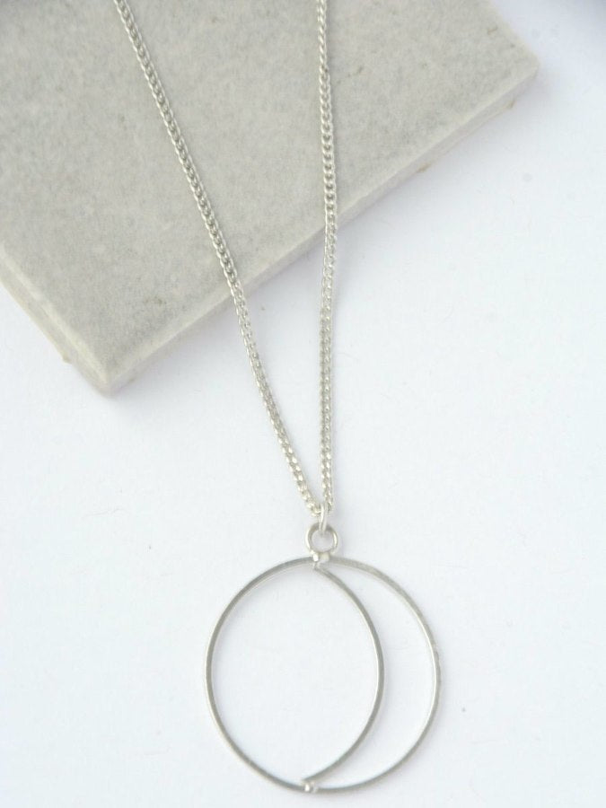 Simple Night Necklace - silver - Small Things Fair Trade
