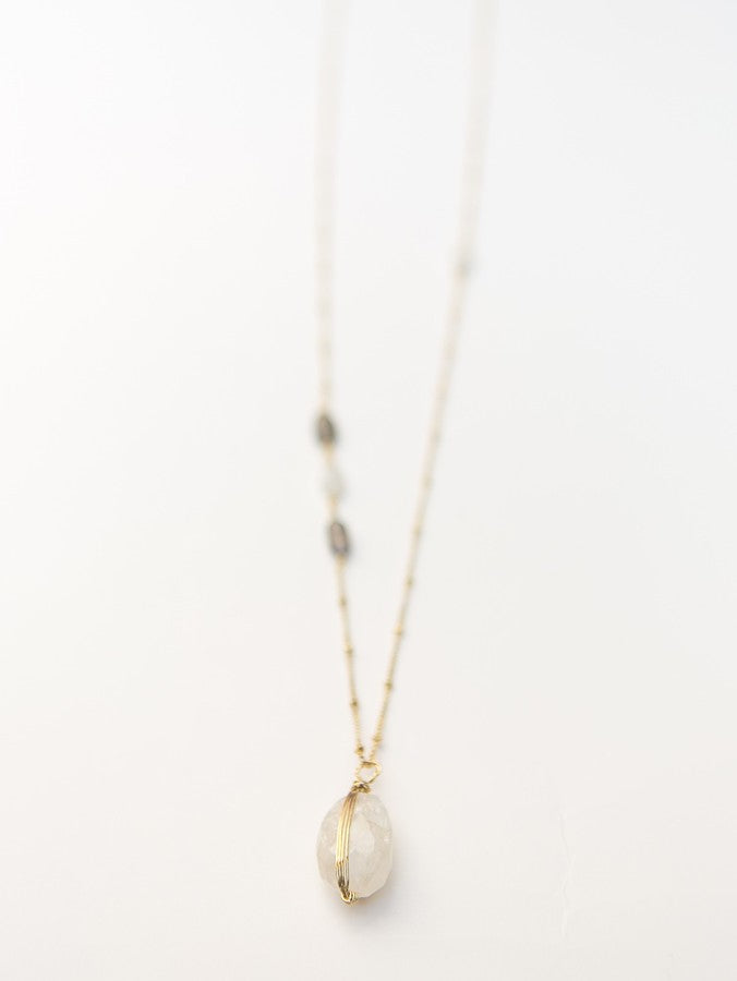 Serenity Stone Necklace - Small Things Fair Trade