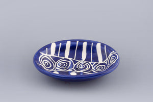 Soap Dish - Blue and White - Small Things Fair Trade