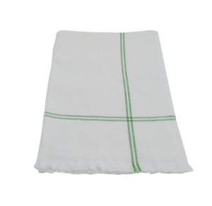 Green Classic Stripe Napkin - Small Things Fair Trade
