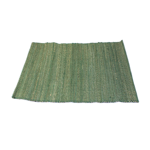 Green Solid Placemat - Small Things Fair Trade