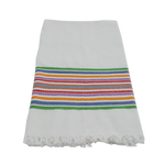 Antigua Stripe Towel - Bright Stripe - Small Things Fair Trade