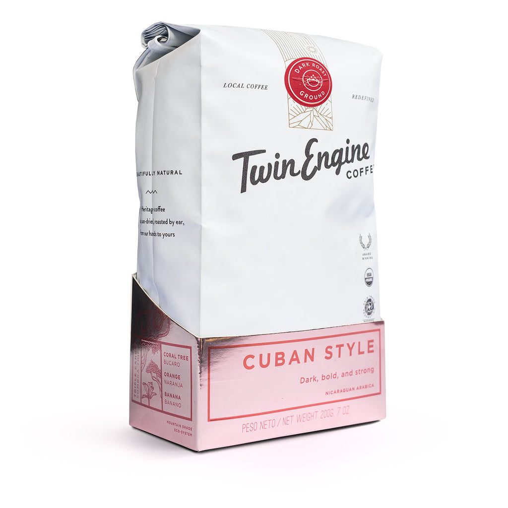 Twin Engine Coffee - Cuban Style - Small Things Fair Trade