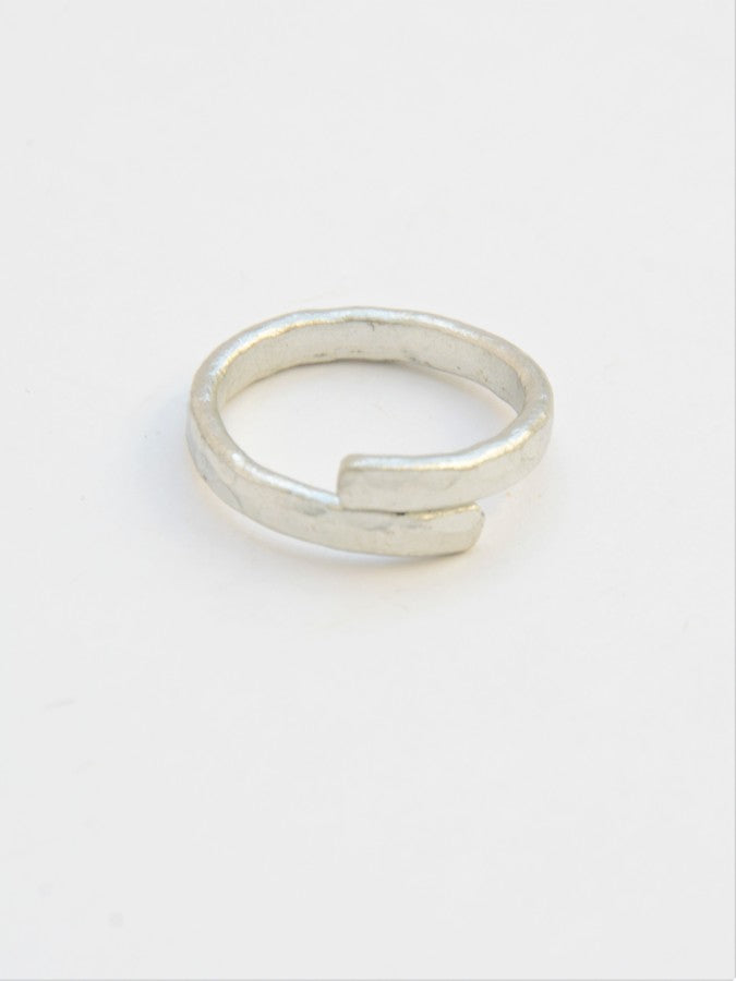 Twisted Vine Ring - Silver - Small Things Fair Trade