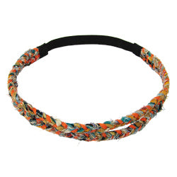Double Braided Kantha Headband - Small Things Fair Trade