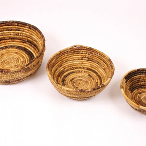 Banana Leaf Spiral Basket - Small Things Fair Trade