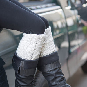 Cable Legwarmers - (adult) - Small Things Fair Trade