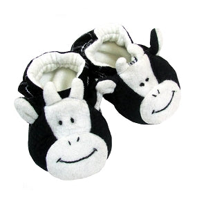 Cow Baby Booties - Small Things Fair Trade