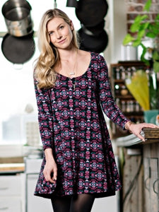 Knit Flounce Dress - Small Things Fair Trade