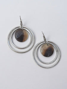 Classic Circles Earrings - Small Things Fair Trade