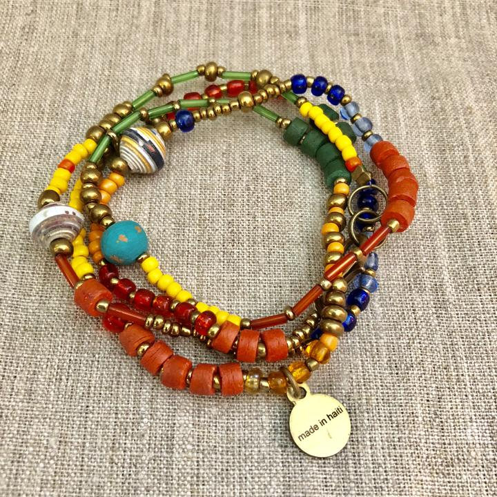 Calliope Wrap Bracelet - Small Things Fair Trade