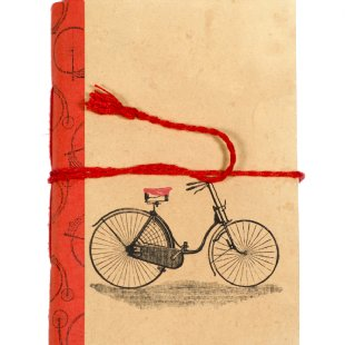 Journal - Vintage Bicycle - Small Things Fair Trade