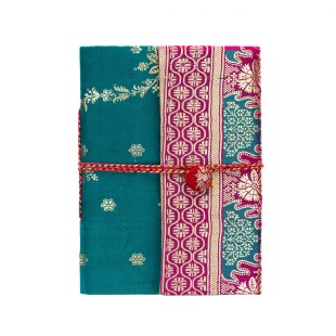 Journal - Silk Sari - Small Things Fair Trade