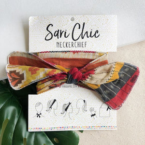 Sari Chic Neckerchief - Cotton