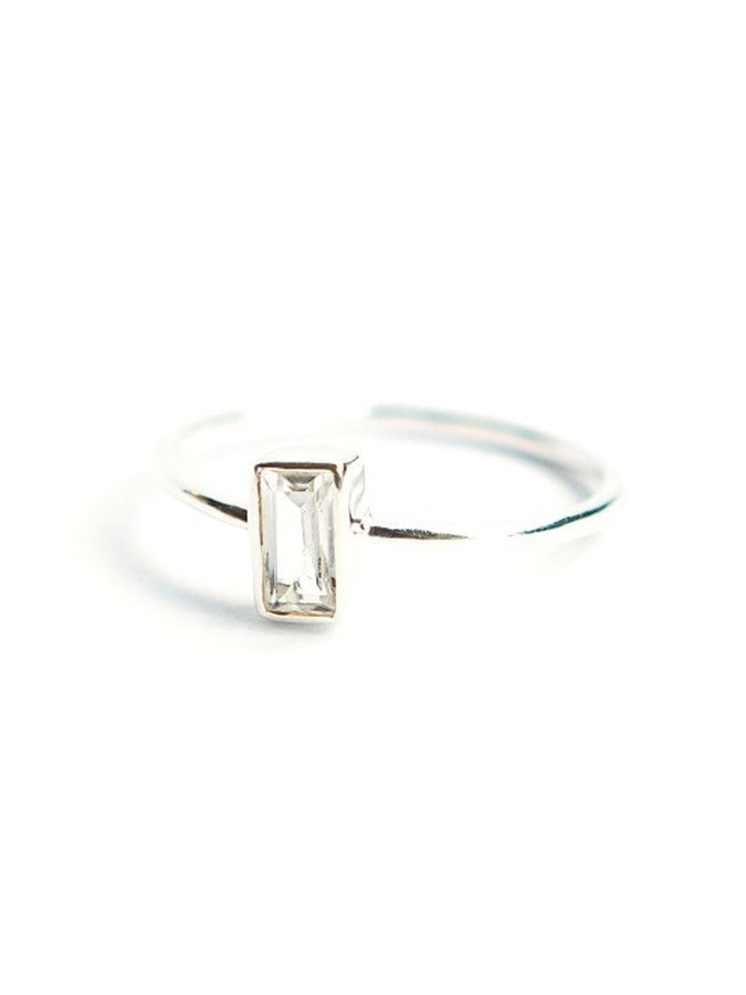 Prism Ring - Sterling - Small Things Fair Trade